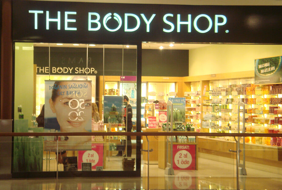 <strong>The Body Shop</strong>